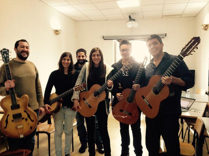 Alunos do workshop na Universidade de Évora em Portugal