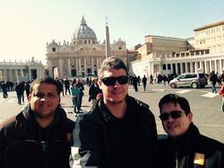 Brasil in Trio no Vaticano!