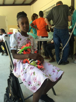 Bless this little girl in Haiti Lord