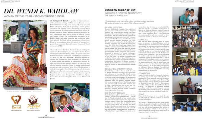 Woman of the Year! Orlando Style Magazine