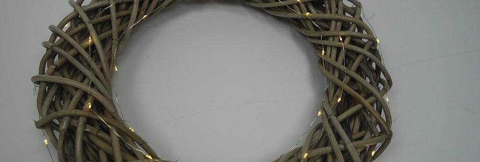 Krans 50 cm batterijverlichting