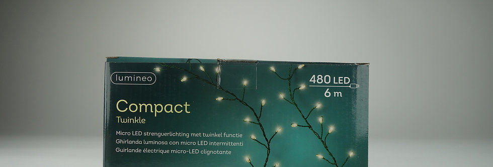 480LED 6m microled compact warm white LUMINEO