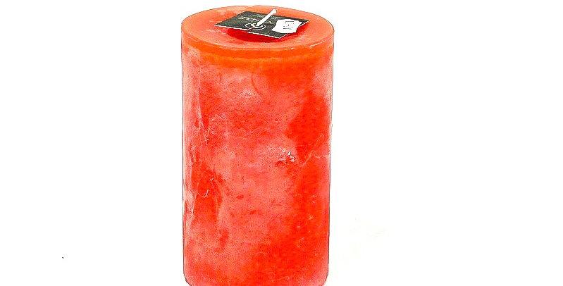 Kaars smal klein orange