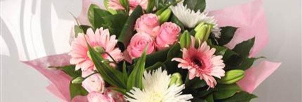 Boeket Astrid roze