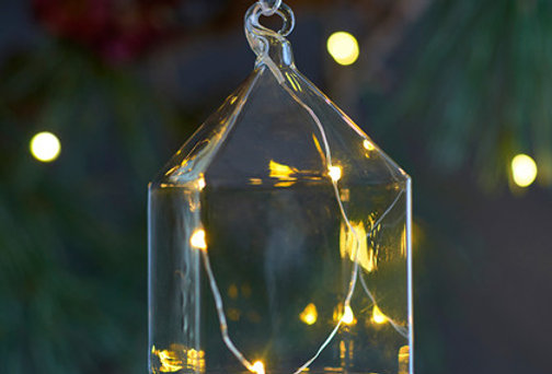 REBECCA GLASS HOUSE, H11CM, HELDER