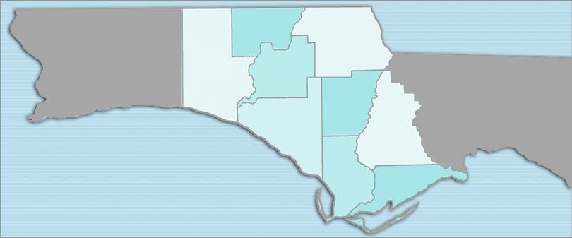 Northwest Florida Court Reporting Area