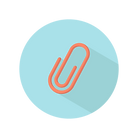 vector of paper clip