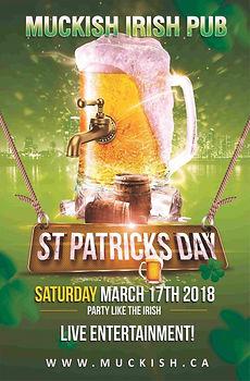 Muckish Irish Pub St. Patrick's Day Poster