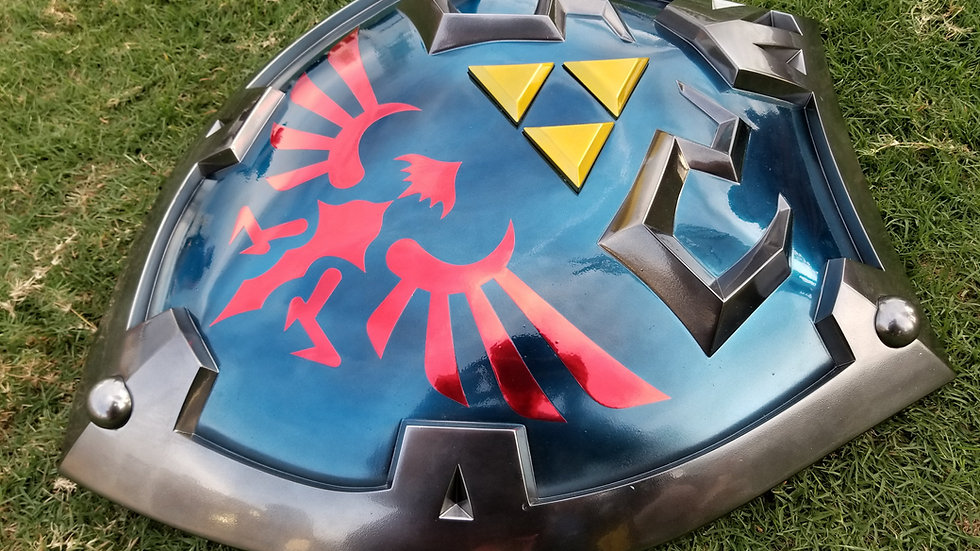 Hylian Shield (Breath of the Wild) Fully Finished