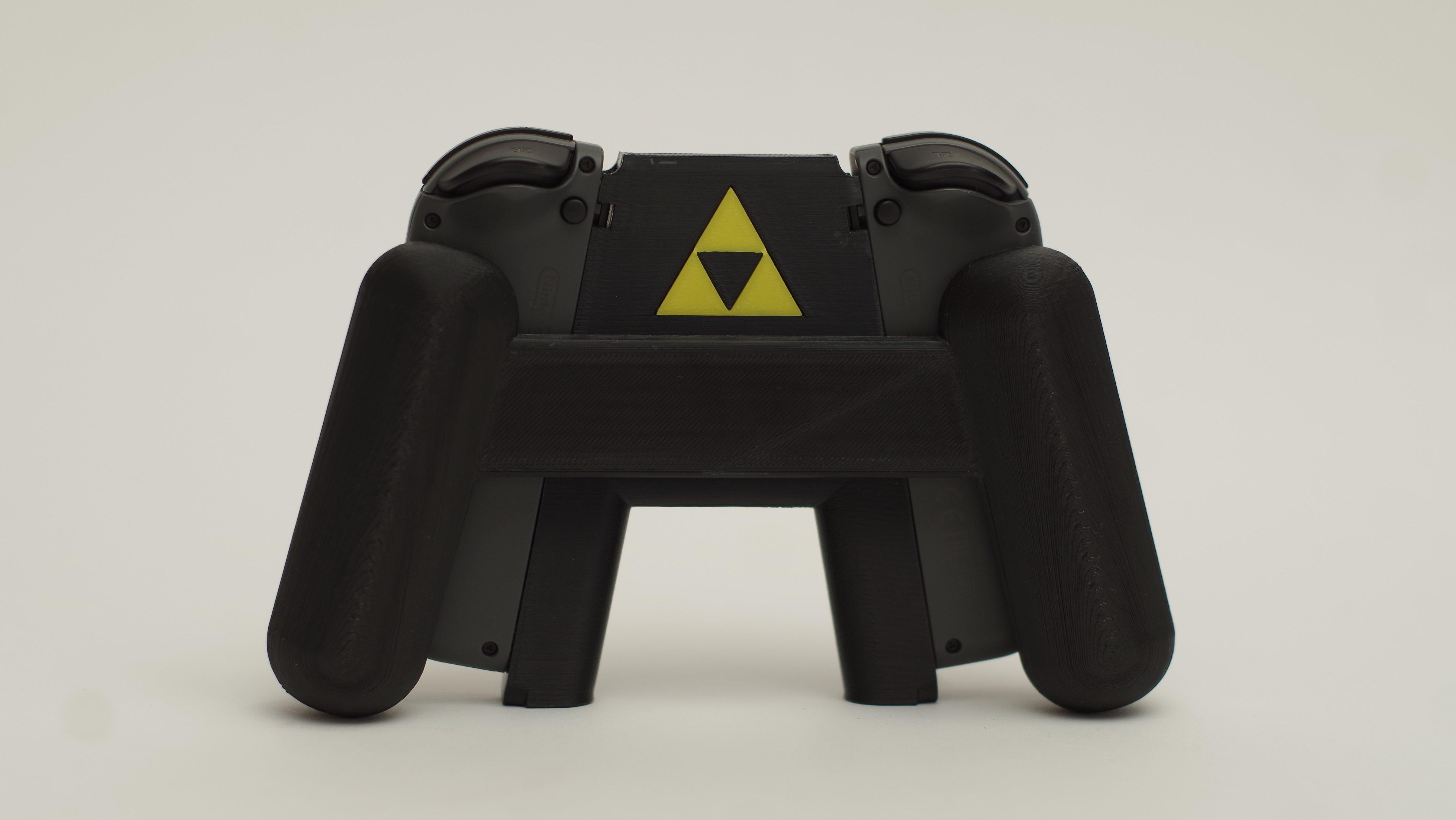 Custom Nintendo Switch Joy-Con Grip (Sheikah) | fluxtidedesigns
