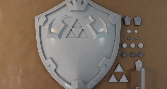 Hylian Shield Raw Kit (Breath of the Wild)