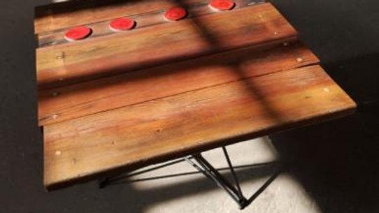 Sustainable handmade star table