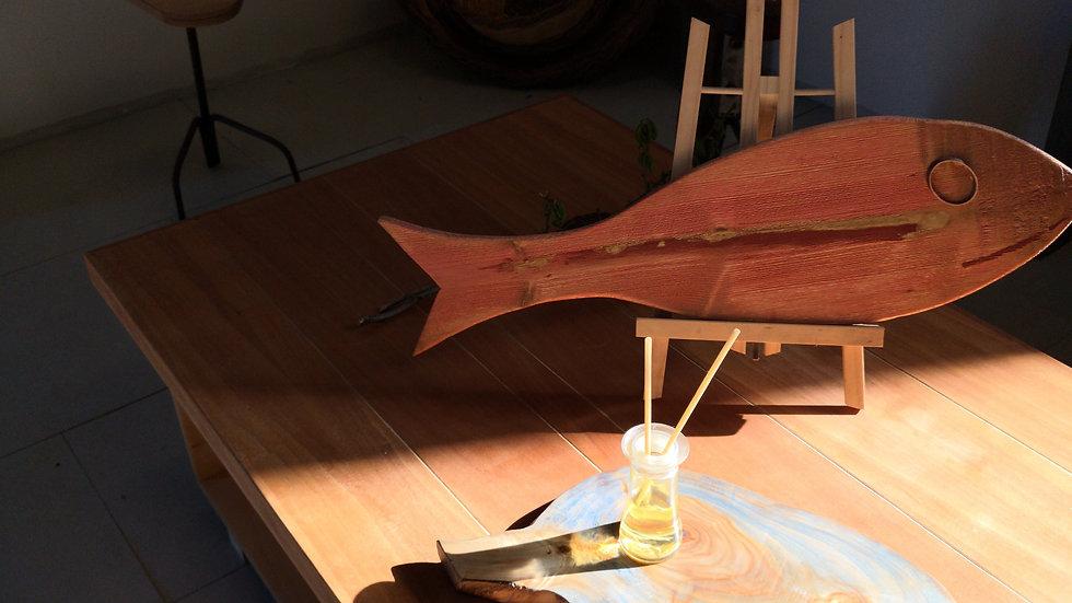 Fisherman coffee table B Cherry top