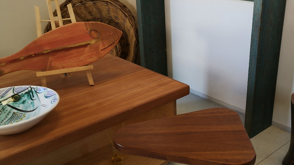 Fisherman coffee table B Oak  top