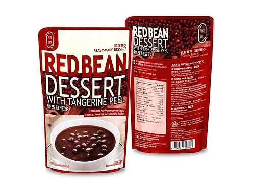 Ready To Eat Red Bean Dessert with Tangerine Peel (250g)