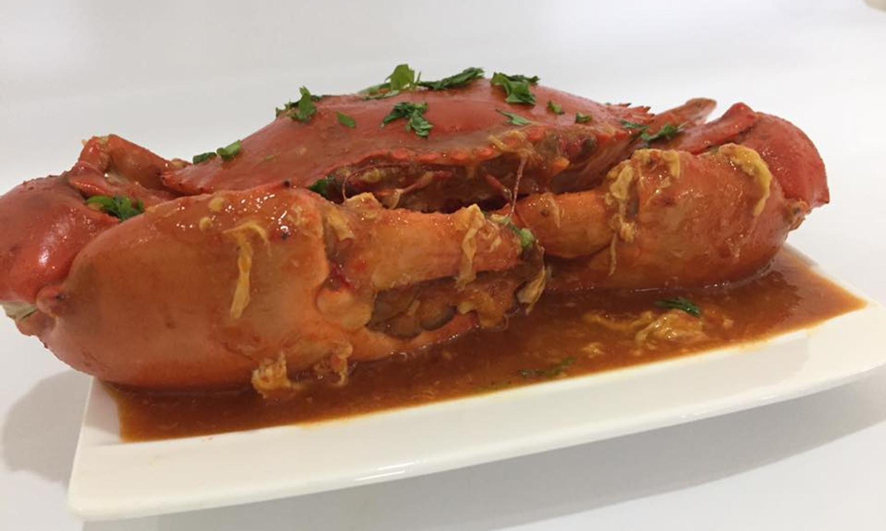 Singapore Famous Chilli Crabs