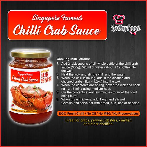 Singapore Famous Chilli Crab Sauce