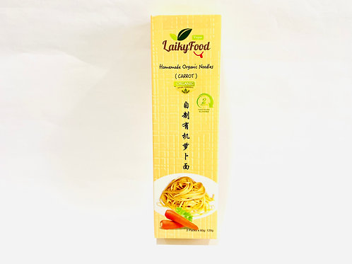 Laikyfood Organic Instant Noodles (Carrot) (2 x 60g)