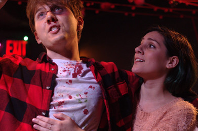 """""""The Dead and The Dying"""" @ the Bridge Theatre (Shetler Studios), Typed Out. Productions/2015"""