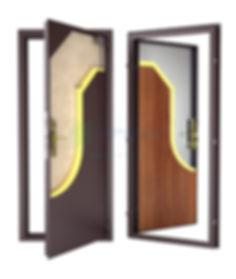 Недорогая входная дверь Гардиан ДС 1