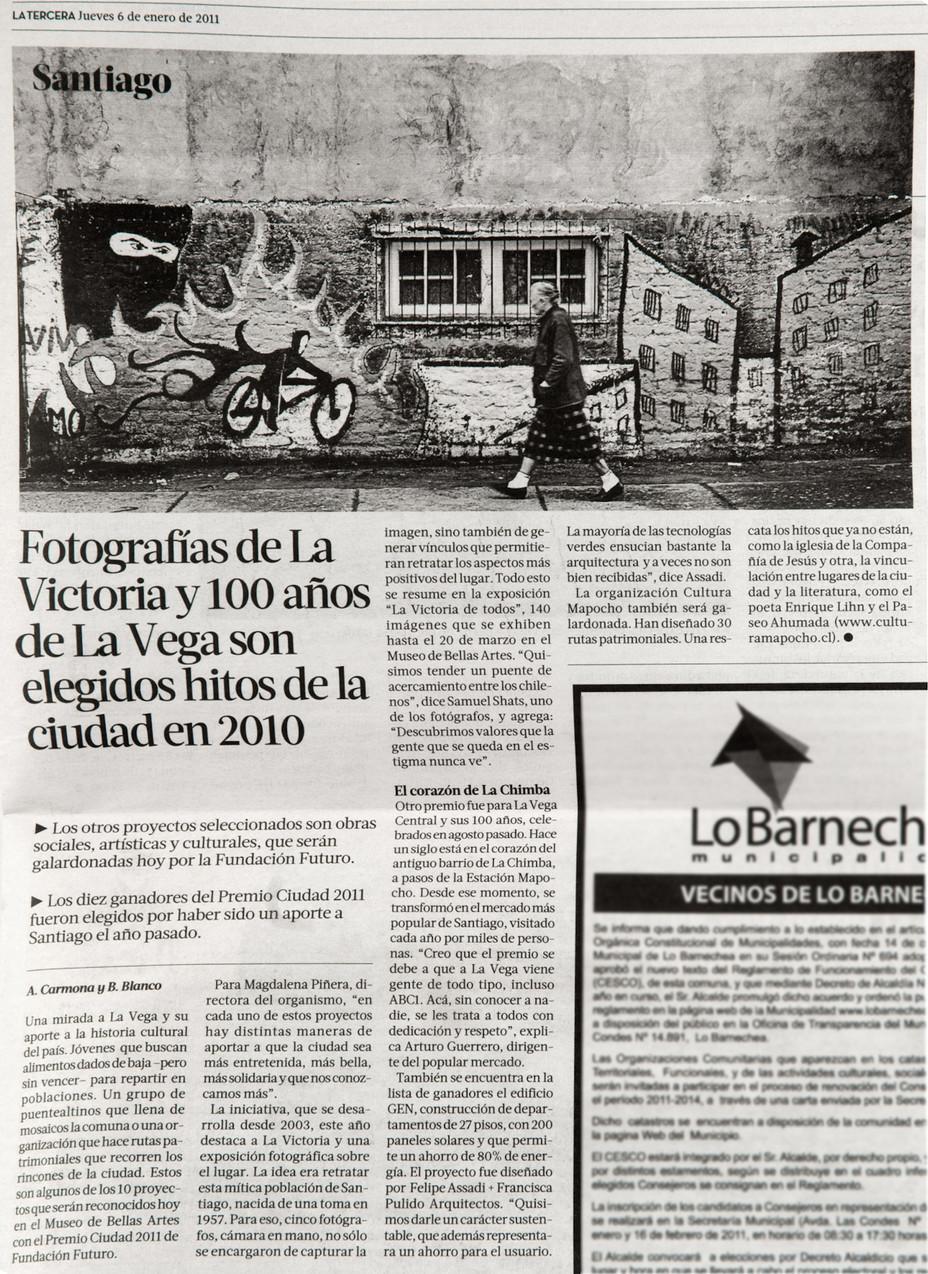 """""""La Victoria de Todos"""" es elegida Hito de la ciudad/ """"La Victoria de Todos"""" is c"""