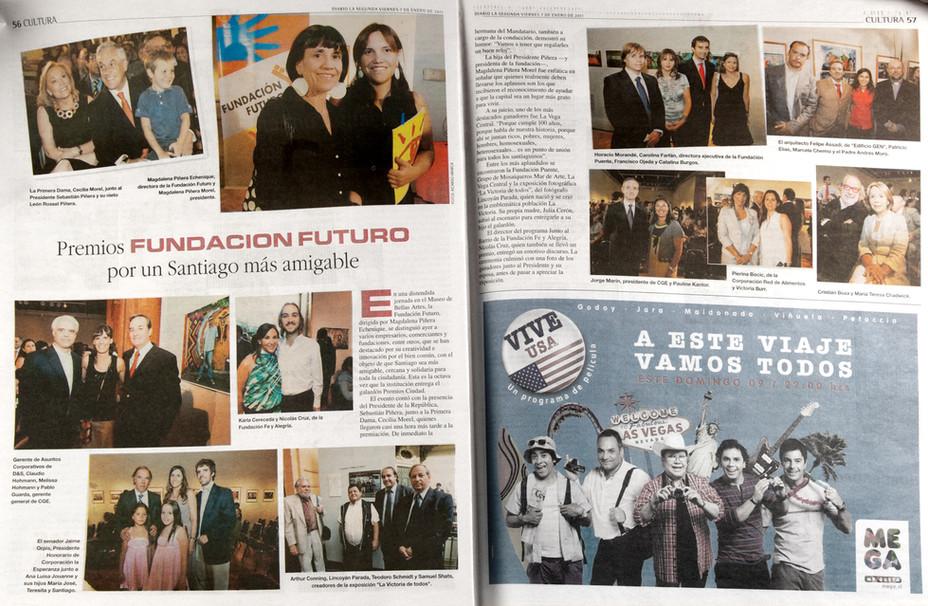 """""""La Victoria de Todos"""" es premiada por la fundación Futuro/ """"La Victoria de Todos&quo"""
