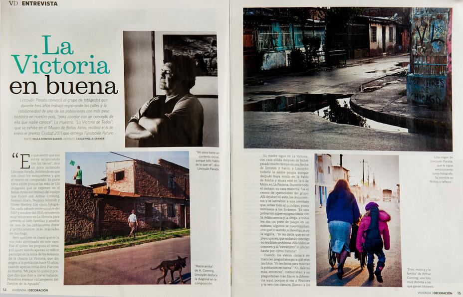 """Fotógrafo Lincoyán Parada sobre  """"La Victoria de Todos"""""""