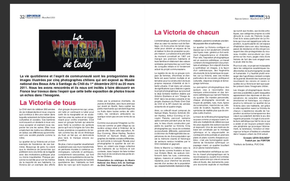 """""""La Victoria de tous"""""""