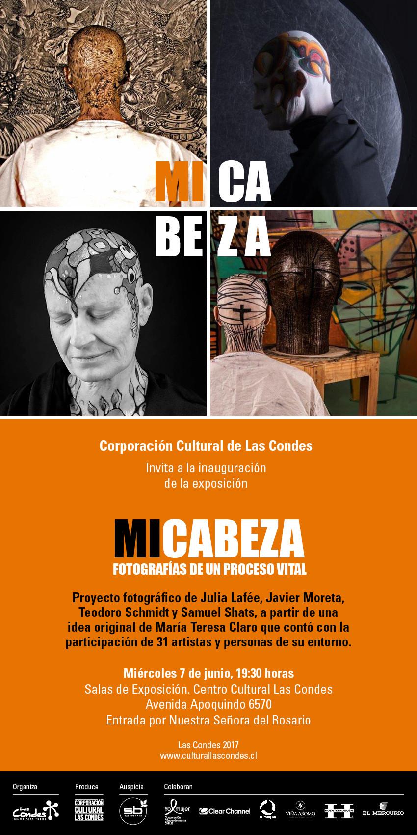 """La Exposición """"Mi cabeza, fotografias de un proceso vital"""" será inaugurada en la Corporaci"""