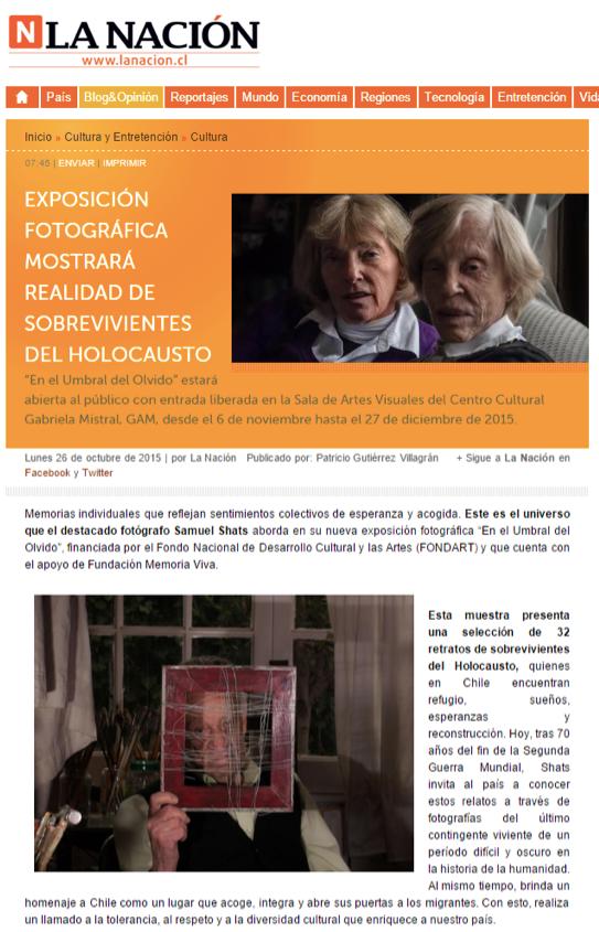 Exposición fotográfica mostrará realidad de sobrevivientes del Holocausto