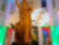 children-museum-uplight-monogram-party