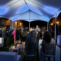 tent-uplight-pa system-party
