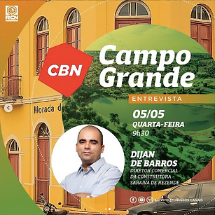 Entrevista Dijan de Barros CBN 05052021.