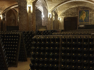 I went to the older sparkling wine producer of Italy.