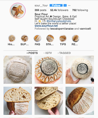 Sour Flour IG profile