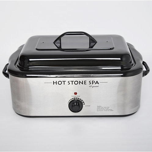 18-quart professional stone heater