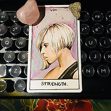 The Strength card is a reminder that you