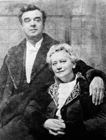 Founders of the NSSO John Cope and Madame Reymond