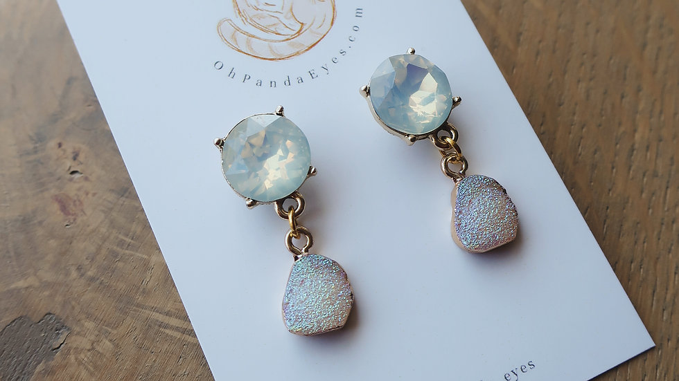 Sparkle Crystal Drop Earrings