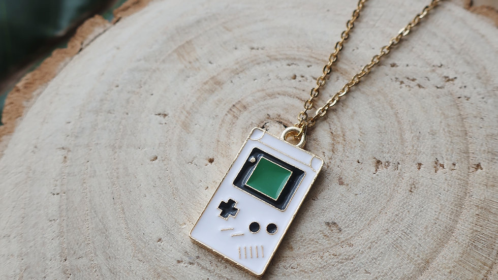 Kawaii Games Console Charm Necklace