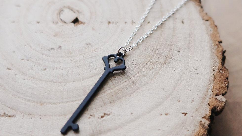 The Secret Garden Inspired Key Charm Necklace