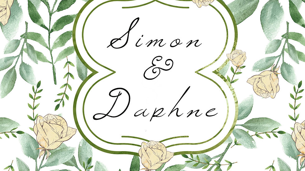 Bridgerton Simon & Daphne Inspired Candle - Fresh Linen Scent