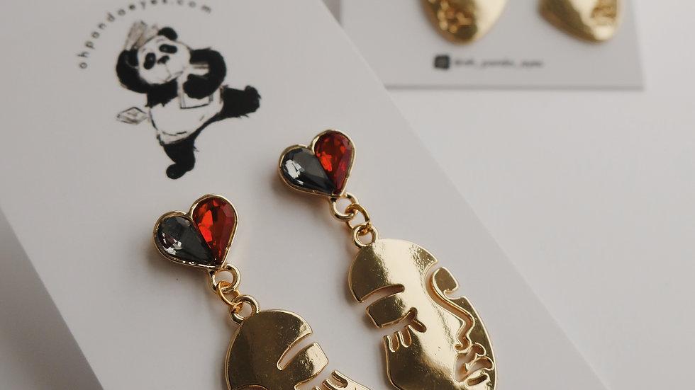 'The Lover' Drop Earrings