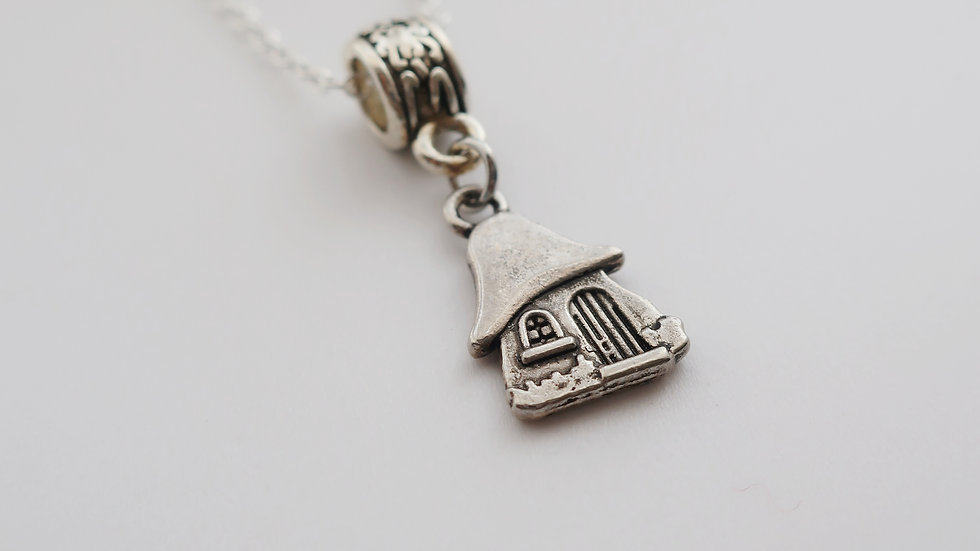 Hobbit House Inspired Charm Necklace