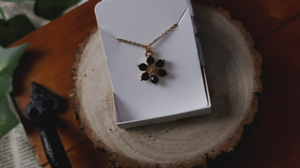 Anastasia 'Together in Paris' Inspired Necklace - Gold Plated Chain - Gift Box