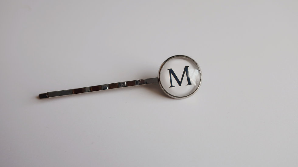 Monogrammed Letter Hair Pin - Choose a Single letter or 2