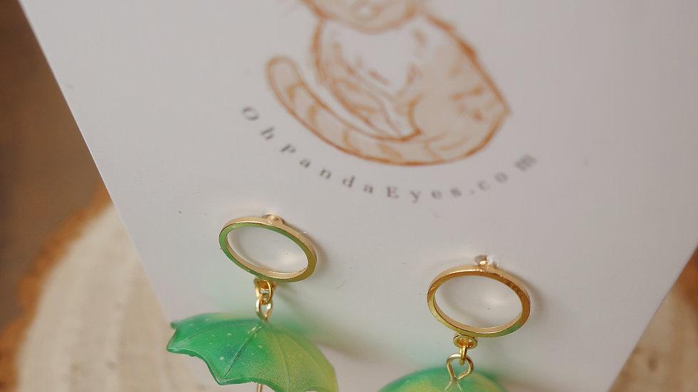 'Sufi' Cute Umbrella Drop Earrings