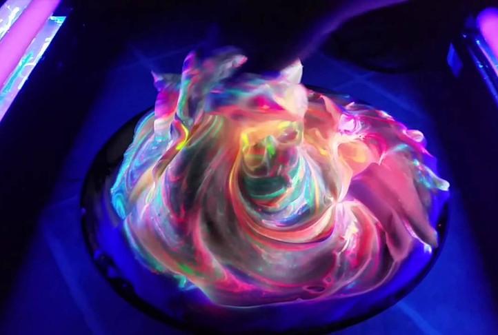 UV colour demo