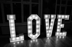 Love lights up the dance floor