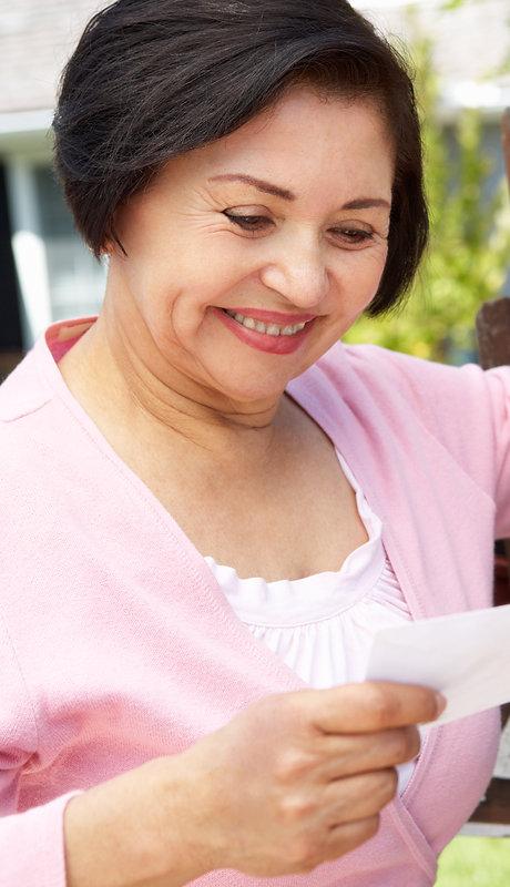 Canva - Senior Hispanic Woman Checking M